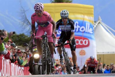 Sin duda alguna, dos de los grandes favoritos al título de la LXIX Vuelta a España, con el boyacense Nairo Alexánder Quintana Rojas, jefe de filas del Movistar; y el antioqueño Rigoberto Urán Urán, 'capo' del Omega Pharma - Quick Step.