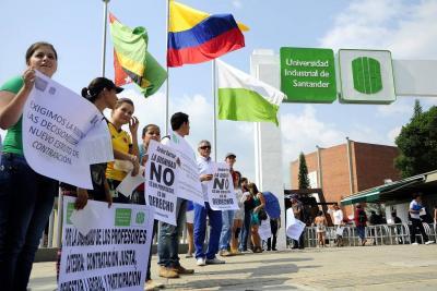 Estudiantes de la UIS marcharán este jueves para visibilizar problemática interna
