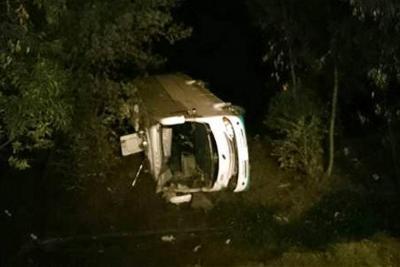 Son seis los muertos en accidente de bus en Zipaquirá