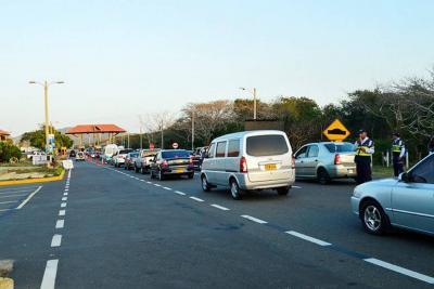 Reducción del 60% en accidentes de tránsito durante puente de Navidad