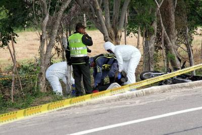 Primer accidente grave de tránsito de 2016 en Colombia deja cinco personas muertas