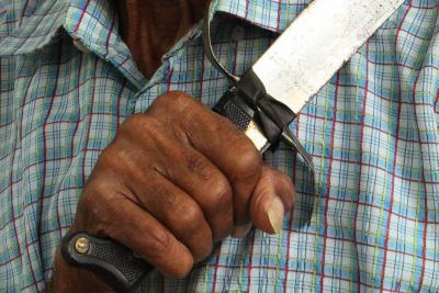 Capturado padre que hirió a su hija de un año con un machete