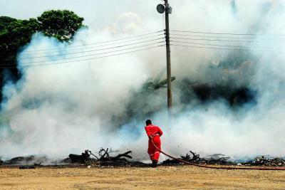 Barrancabermeja, en alerta roja por incendios forestales