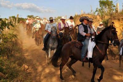 Con cabalgata iniciarán las ferias de Guadalupe