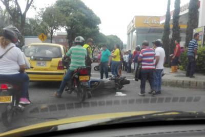 Motociclistas del área siguen protagonizando accidentes