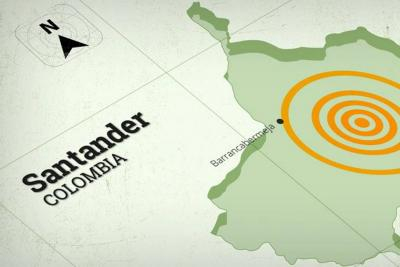 Dos sismos sacudieron a Bucaramanga en la madrugada de este jueves