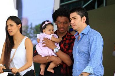 Juan Guillermo Cuadrado se casó después del partido