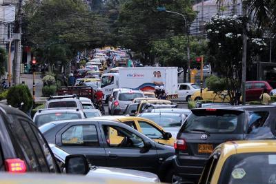 Director de Tránsito habla del caos vial en Bucaramanga