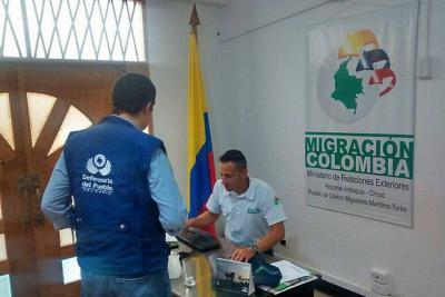 Defensoría hace acompañamiento tras el cierre de la frontera con Panamá