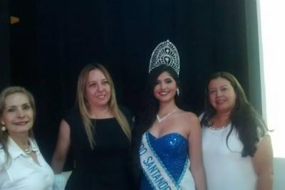 Una sangileña fue elegida como Miss Mundo Santander