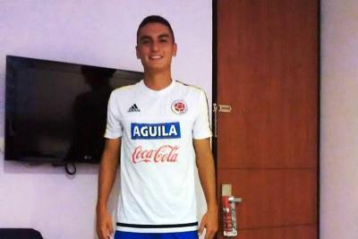 Volante santandereano fue convocado a la Selección Colombia Sub 20