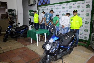 Libres los 4 sujetos que habrían intentado asaltar dos joyerías de Bucaramanga