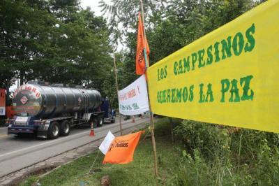 Se acordó formalmente levantar bloqueo en la vía Panamericana