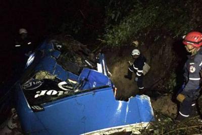 Un accidente de tránsito dejó ocho personas muertas en Huila