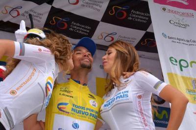 Mauricio Ortega, nuevo líder de la Vuelta a Colombia