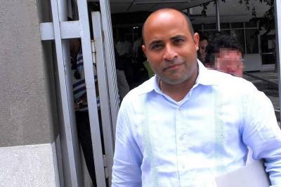 Exalcalde de Barrancabermeja Carlos Contreras se entregó a la Fiscalía