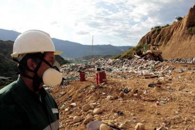 Basura de Bucaramanga volverá a terreno clausurado hace 20 años en El Carrasco