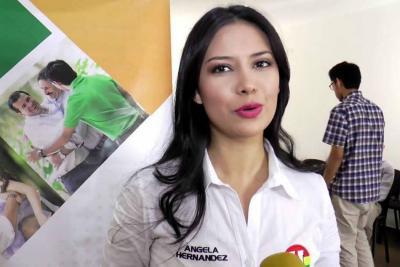Cómo le fue en el detector de mentiras a la diputada Ángela Hernández