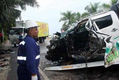 Siete heridos dejó accidente de tránsito en la vía a Barrancabermeja