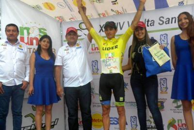 Chalapud se impuso en la llegada a Curití en la Vuelta a Santander