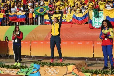 Más de 8.300 personas se ganaron el chance con el número de Mariana Pajón
