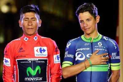 Esteban Chaves, la gran revelación que hizo podio en el Giro y la Vuelta