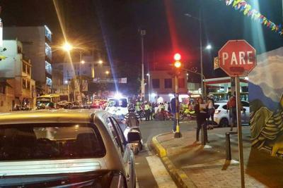 Motociclista murió en accidente con Metrolínea en Bucaramanga