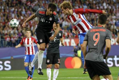Atlético de Madrid le ganó 1 a 0 al Bayern en la Champions