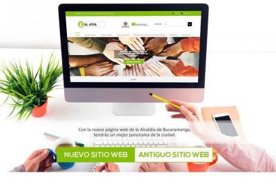 Alcaldía de Bucaramanga modificó su portal web, buscando más transparencia