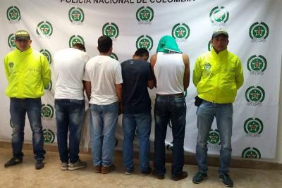 Capturados cuatro hombres por delitos sexuales en Santander