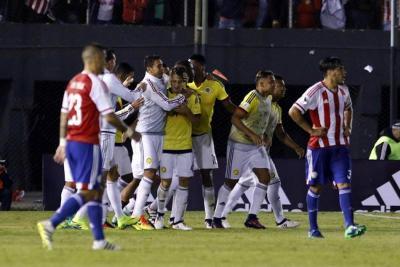 Colombia venció 1-0 a Paraguay en las Eliminatorias