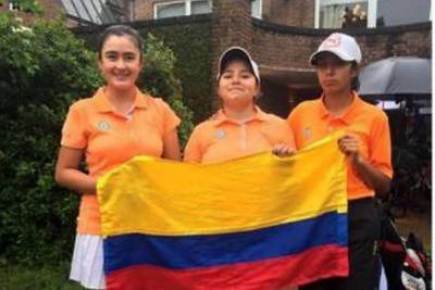 Santandereana Valery Plata Pardo, campeona suramericana de golf en Argentiina