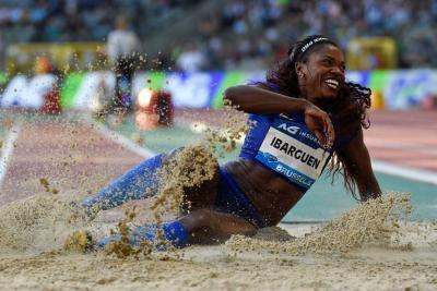 Caterine Ibargüen, nominada a mejor atleta del año