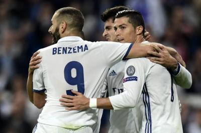 Con James de titular, Real Madrid goleó 5-1 al Legia Varsovia