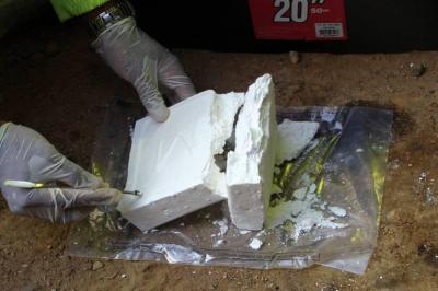 Tropas incautaron más de 600 kilos de cocaína en costa Pacífica