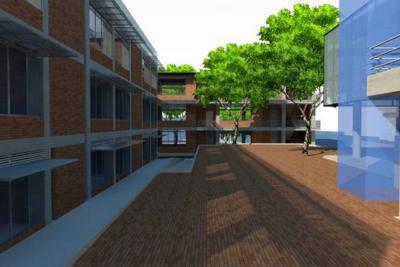 En marcha, proyectos de infraestructura en tres colegios oficiales en Bucaramanga