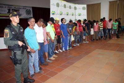 Golpe a extorsionistas en el Puerto: 21 capturados