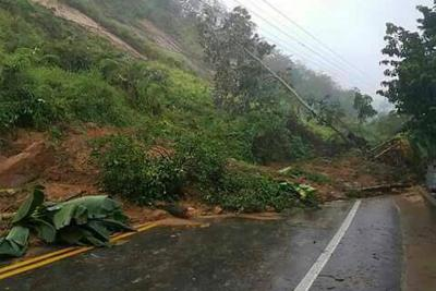 8 mil metros cúbicos de tierra taponaron vía  a Barrancabermeja