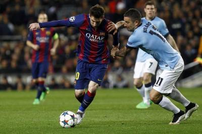 Barcelona visita al Manchester City por el paso a octavos en la Champions