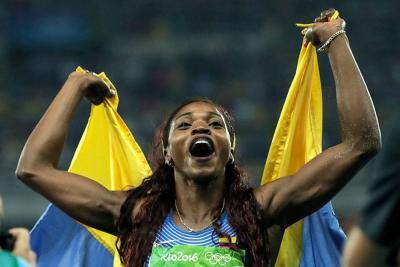 Caterine Ibargüen encabeza votaciones a mejor atleta del año