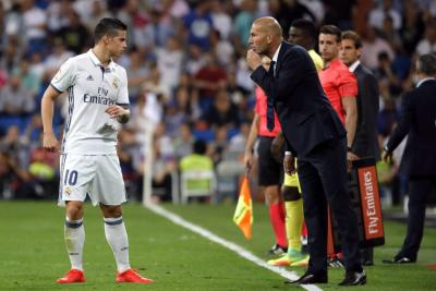 Real Madrid no convoca a James Rodríguez para partido de Champions League