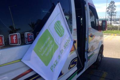 La 'Caravana paz a la selva', de la UIS, llegó este domingo a Villavicencio