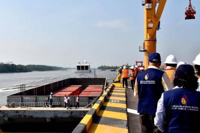 Según Colfecar, los modos de transporte no se pueden poner a competir, porque los costos son muy inferiores con el fluvial.