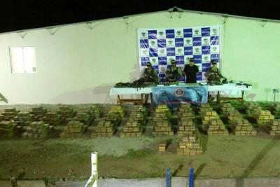 Fiscalía incautó más de tres toneladas de coca en el pacífico