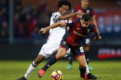 Juventus, con Cuadrado de titular, cayó goleado por Génova