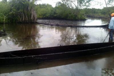 Alerta por derrame de crudo en Puerto Wilches, Santander