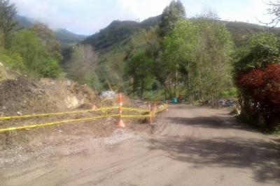 Inundaciones y vías cerradas dejan lluvias en Santander