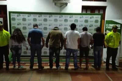 Cayó presunta banda por robo de vehículos mediante estafa en Bucaramanga