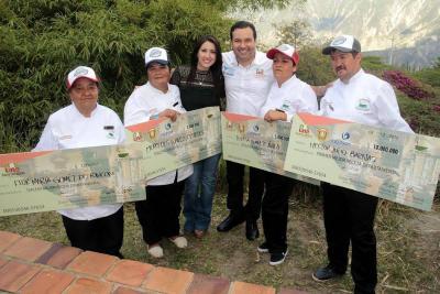 Cocineros de Páramo ocupan segundo lugar