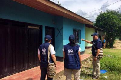 Casas marcadas por grupos ilegales generan pánico en Antioquia